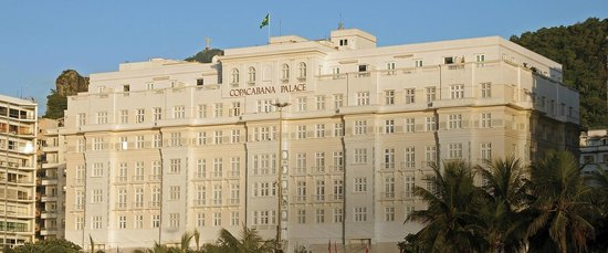 Belmond Copacabana Palace: Vista del bello frente del hotel