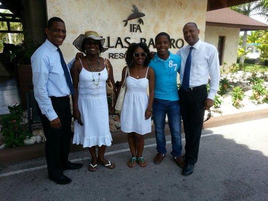 IFA Villas Bavaro Resort & Spa: Excelente fin de semana en familia!