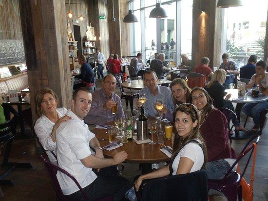 Jamie's Italian: almoço com a família