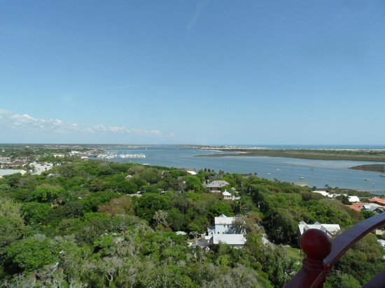 St. Augustine Lighthouse & Maritime Museum: View from the top