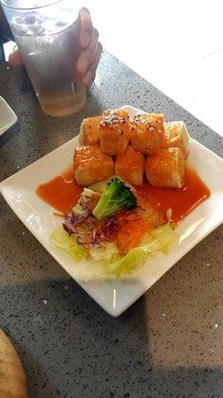 Ono's Sushi Bar: spicy agedashi tofu
