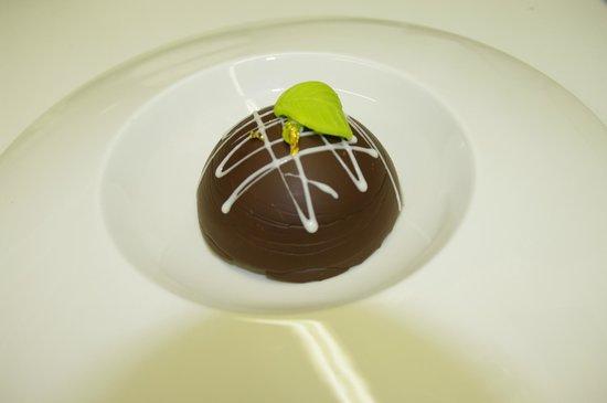 Weidendall Auberge -  Restaurant: Parfait glacé menthe chocolat