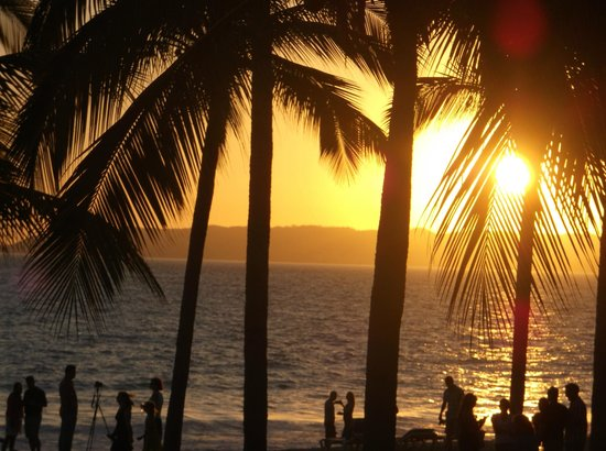 Hotel Riu Palace Pacifico : sunset