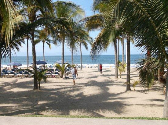 Hotel Riu Palace Pacifico : beach