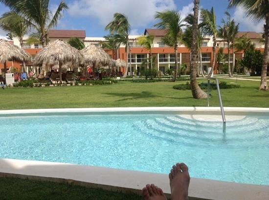 Breathless Punta Cana Resort & Spa : swim up room is the best!