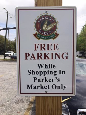 Parker's Market Urban Gourmet: Very clear