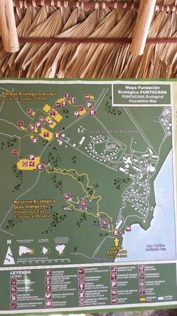 Puntacana Ecotours : Area Map
