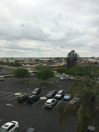 SpringHill Suites by Marriott Bakersfield: View from a front-facing, 4th floor room.