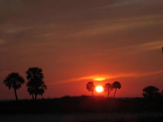 Arvilla Resort Motel Treasure Island: Beautiful Sunset to be seen from Arvilla