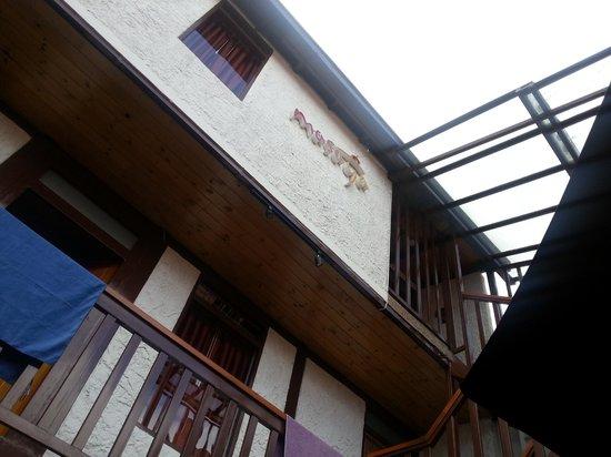 Masaya Hostel Bogotá: Vazado