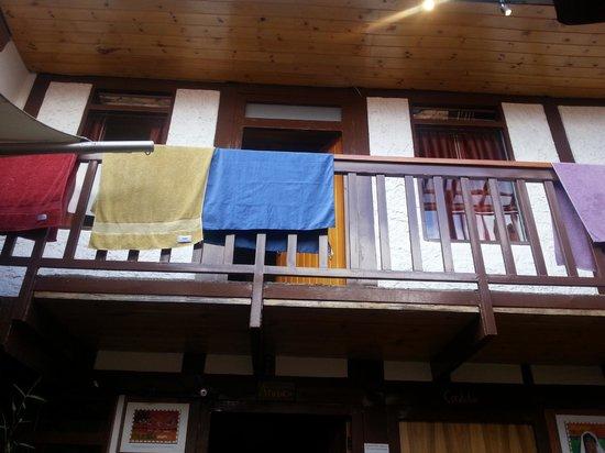 Masaya Hostel Bogotá: Entrada do dormitorio