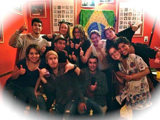 The Hostel-Inn Buenos Aires: fiesta brasilera