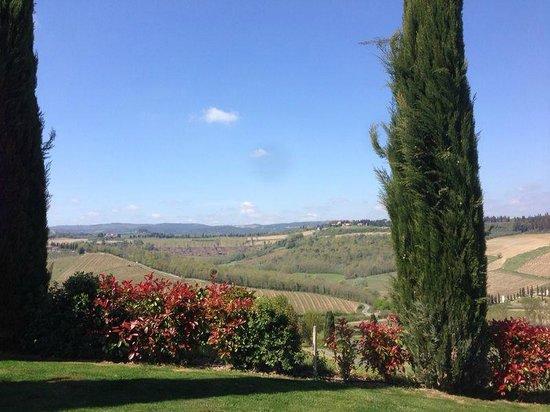 Poderi Arcangelo Agriturismo Farmhouse : Panorama da Casa Capezzano