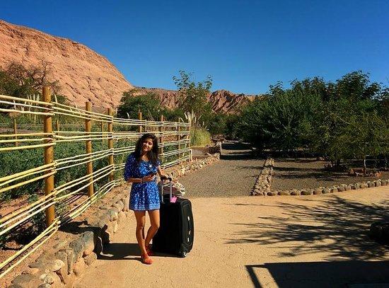 Alto Atacama Desert Lodge & Spa: Checking out - beautiful property