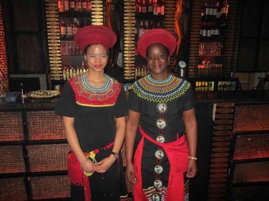 Massai-Berlin: Smuk servering