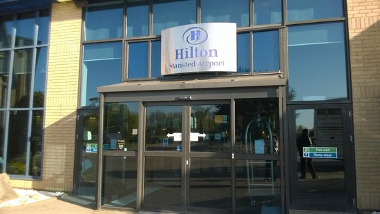 Hilton London Stansted Airport: Front