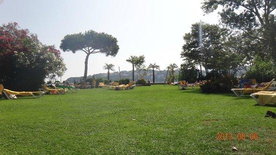 S'Agaro Hotel: garden