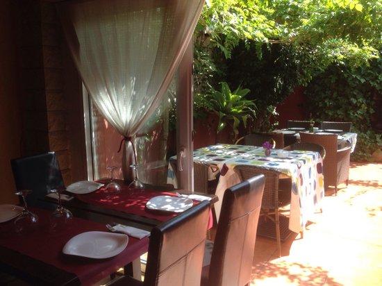 Restaurante Classica Gourmet: Acceso a terraza