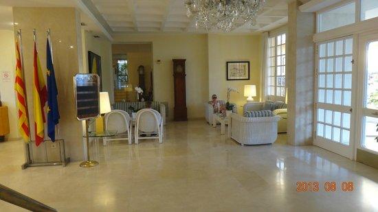 S'Agaro Hotel: hall