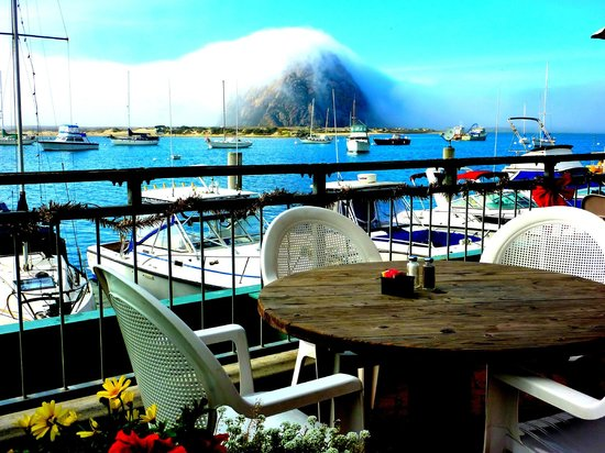 Blue Sky Bistro on the Bay: What fog?