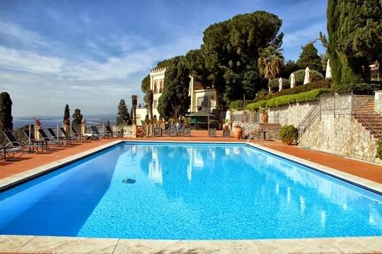 Grand Hotel San Pietro: the swimming pool area