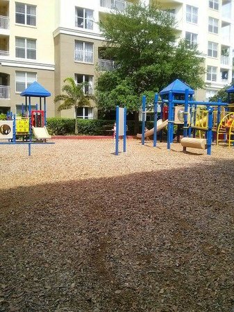 Vacation Village at Parkway: Playground area between building 4/5