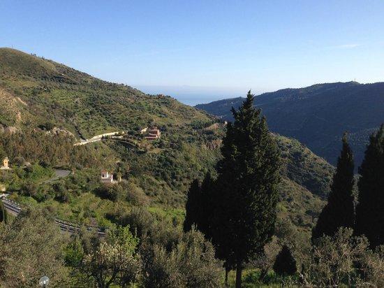 L'Uliveto: Vue depuis notre balcon