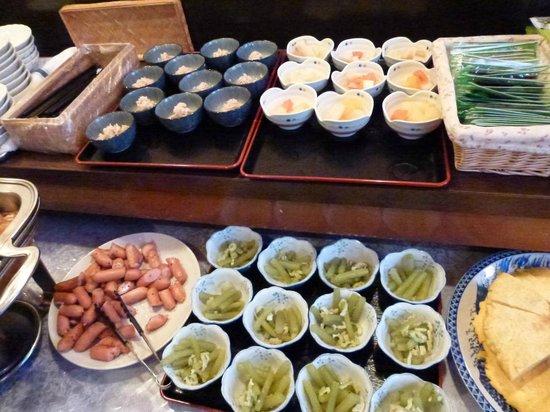 Hotel Sun Royal Oyama: 小鉢も豊富