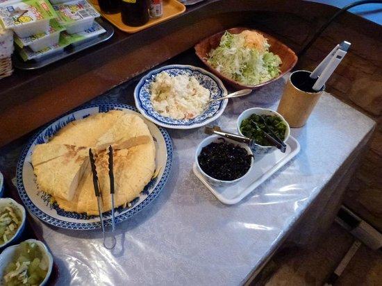 Hotel Sun Royal Oyama: 厚焼き玉子が絶品