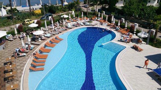 Casa De Maris Spa & Resort Hotel: Sea view room