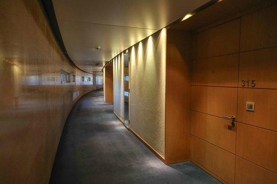 Kempinski Hotel Aqaba Red Sea: corridor