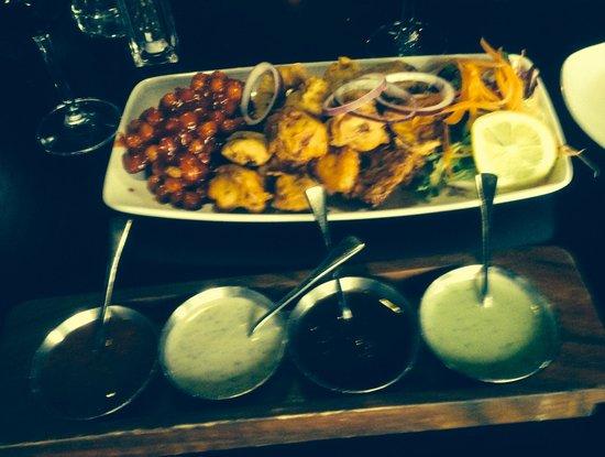 Bukharah: Chef's Platter