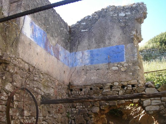 Villa of San Martino : Dwelling with Blue Strip of Paint
