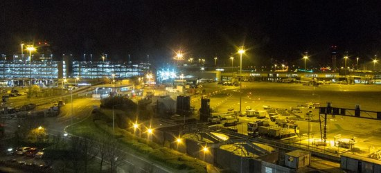 Radisson Blu Hotel, Manchester Airport: View from the Restaurant