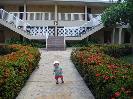 Sirenis Punta Cana Resort Casino & Aquagames: our building