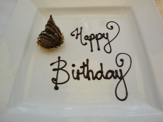 Hotel Indigo Newcastle: Birthday message!