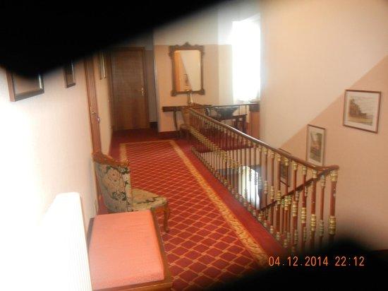 Hotel Riviera : Hallway in hotel