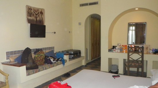 Tropitel Dahab Oasis: one view of our upper room, though most are the same spec.