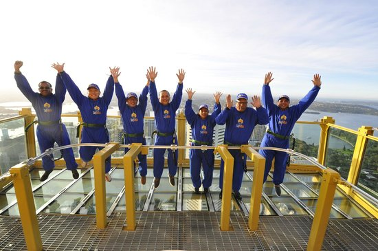 Sydney Tower Eye and Skywalk : Yeeha the happy group