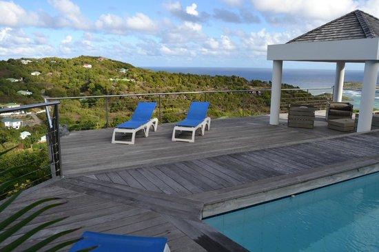 Au Coeur Caraibe: plage de la piscine privatisé