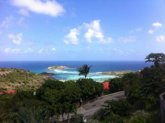 Au Coeur Caraibe: vue depuis la terrasse
