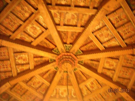 Cultural Center of Ensenada: Close up of the ceiling
