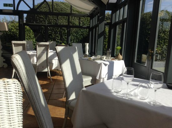 Titchwell Manor Hotel: The Conservatory Restaurant