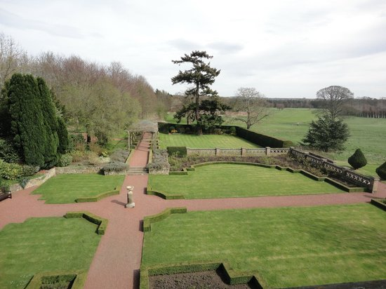 Matfen Hall: Room with a view