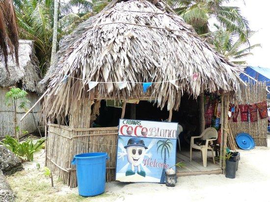"""Cabanas Coco Blanco: das """"Restaurant"""""""