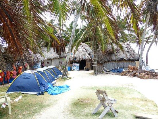 Cabanas Coco Blanco: Zelte für die Camper