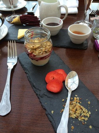 Ariel House: The breakfast starter!