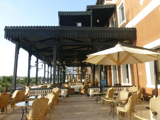 Terrace Picture Of Sofitel Legend Old Cataract Aswan Aswan
