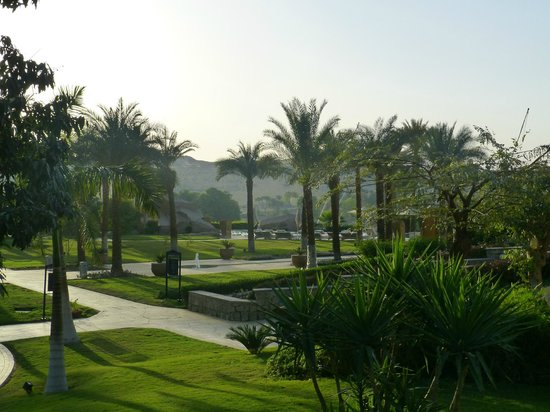 Sofitel Legend Old Cataract Aswan: View over the pool and gardens