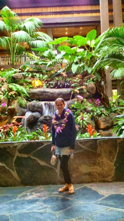 Disney's Polynesian Village Resort : I will miss you water feature!